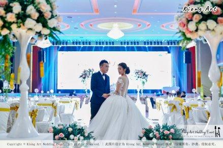 Kuala Lumpur Wedding Event Deco Wedding Planner Kiong Art Wedding Event 吉隆坡一站式婚礼策划布置 Klang Commercial Convention Centre KCCC 巴生皇城商务会展中心 F01-007