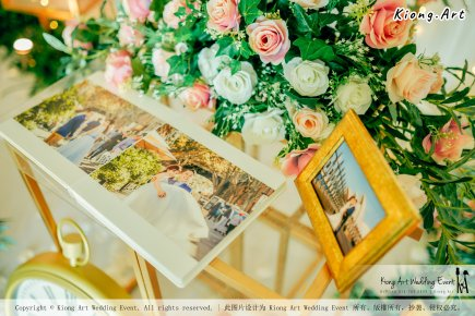 Kuala Lumpur Wedding Event Deco Wedding Planner Kiong Art Wedding Event 吉隆坡一站式婚礼策划布置 Klang Commercial Convention Centre KCCC 巴生皇城商务会展中心 A01-010