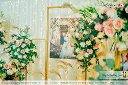 Kuala Lumpur Wedding Event Deco Wedding Planner Kiong Art Wedding Event 吉隆坡一站式婚礼策划布置 Klang Commercial Convention Centre KCCC 巴生皇城商务会展中心 A01-012