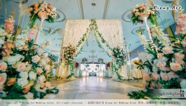 Kuala Lumpur Wedding Event Deco Wedding Planner Kiong Art Wedding Event 吉隆坡一站式婚礼策划布置 Klang Commercial Convention Centre KCCC 巴生皇城商务会展中心 B01-001