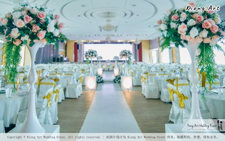 Kuala Lumpur Wedding Event Deco Wedding Planner Kiong Art Wedding Event 吉隆坡一站式婚礼策划布置 Klang Commercial Convention Centre KCCC 巴生皇城商务会展中心 B01-002