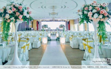 Kuala Lumpur Wedding Event Deco Wedding Planner Kiong Art Wedding Event 吉隆坡一站式婚礼策划布置 Klang Commercial Convention Centre KCCC 巴生皇城商务会展中心 B01-002