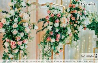 Kuala Lumpur Wedding Event Deco Wedding Planner Kiong Art Wedding Event 吉隆坡一站式婚礼策划布置 Klang Commercial Convention Centre KCCC 巴生皇城商务会展中心 B01-016