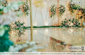 Kuala Lumpur Wedding Event Deco Wedding Planner Kiong Art Wedding Event 吉隆坡一站式婚礼策划布置 Klang Commercial Convention Centre KCCC 巴生皇城商务会展中心 C01-001