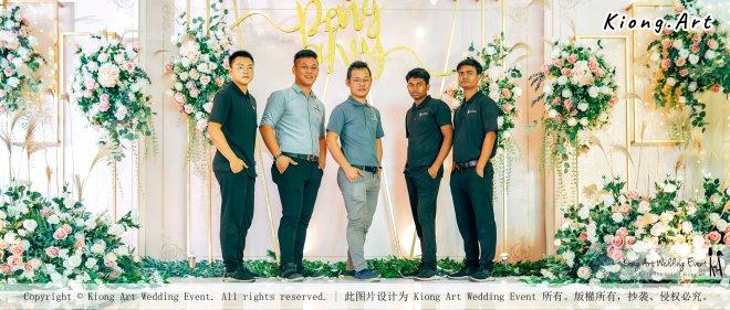 Kuala Lumpur Wedding Event Deco Wedding Planner Kiong Art Wedding Event 吉隆坡一站式婚礼策划布置 Klang Commercial Convention Centre KCCC 巴生皇城商务会展中心 C01-006