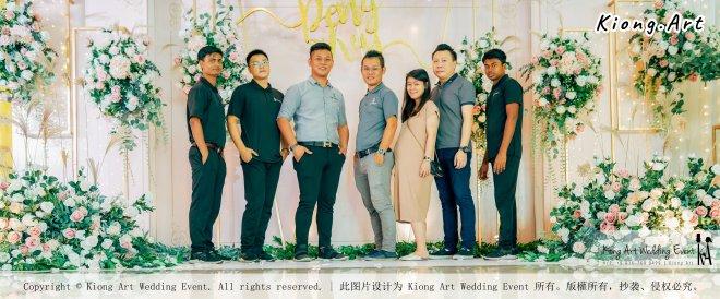 Kuala Lumpur Wedding Event Deco Wedding Planner Kiong Art Wedding Event 吉隆坡一站式婚礼策划布置 Klang Commercial Convention Centre KCCC 巴生皇城商务会展中心 C01-010
