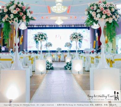 Kuala Lumpur Wedding Event Deco Wedding Planner Kiong Art Wedding Event 吉隆坡一站式婚礼策划布置 Klang Commercial Convention Centre KCCC 巴生皇城商务会展中心 C01-020