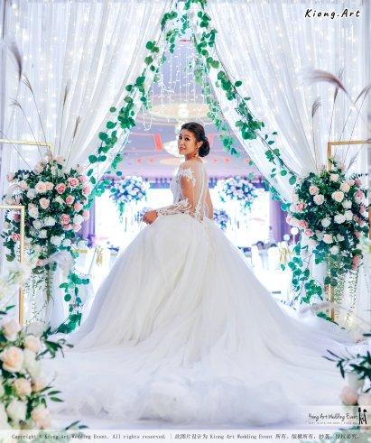 Kuala Lumpur Wedding Event Deco Wedding Planner Kiong Art Wedding Event 吉隆坡一站式婚礼策划布置 Klang Commercial Convention Centre KCCC 巴生皇城商务会展中心 E01-014
