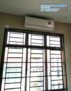 Cool Man Air-Cond Batu Pahat Air Cond Service Air-Cond Installation Air Conditioning 酷酷冷气 冷气维修服务 冷器安装 峇株巴辖 冷气服务 A09