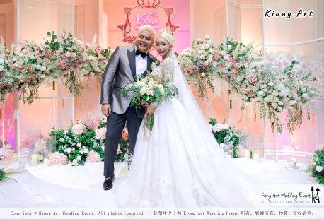 黑哥与林云姐 婚礼 Khen Chua and Leng Yein Wedding at KLCC Convention Centre Declaration of Love 爱的宣言 马来西亚 全民姐姐 Kuala Lumpur Wedding Event Deco Wedding Kiong Art Wedding Event 吉隆坡一站式婚礼策划布置 G01-001