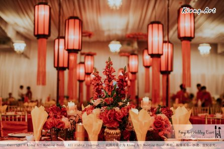 Kuala Lumpur Wedding Event Deco Wedding Planner Kiong Art Wedding Event 吉隆坡一站式婚礼策划布置 Klang WK Banquet Hall Oriental Traditional Culture Wedding 东方传统文化婚礼 B01-004