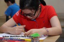 Urban Sketchers Batu Pahat 峇株吧辖 都市写生 A013