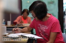 Urban Sketchers Batu Pahat 峇株吧辖 都市写生 A014
