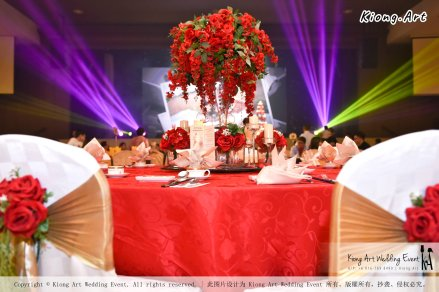 Kuala Lumpur Wedding Event Deco Wedding Planner Kiong Art Wedding Event 吉隆坡一站式婚礼策划布置 Grand Sea View Restaurant European and American Pastoral Style 欧美田园风格 A01-026