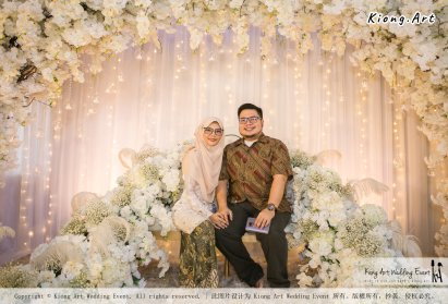 Kuala Lumpur Wedding Event Deco Wedding Planner Kiong Art Wedding Event Malay Wedding Theme Tema Perkahwinan Melayu A01-076