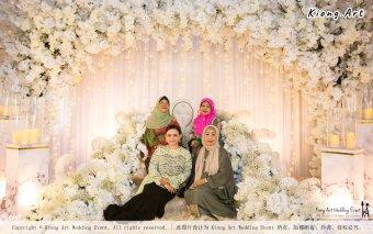 Kuala Lumpur Wedding Event Deco Wedding Planner Kiong Art Wedding Event Malay Wedding Theme Tema Perkahwinan Melayu A01-078