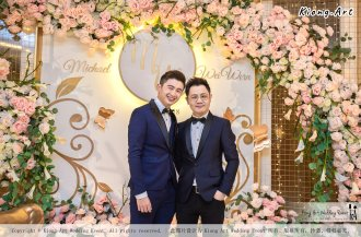Malaysia Selangor Klang Kuala Lumpur Wedding Event Deco Wedding Planner Kiong Art Wedding Event 马来西亚 雪兰莪 巴生 雪隆区 吉隆坡一站式婚礼策划布置 A Gargen Story 温馨花园故事 B01-016