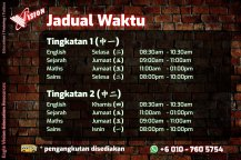 Jadual Waktu Tuition Kota Tinggi 2020 Eagle Vision Education Resources Subject Yang Diajar Sejarah Sains Maths AddMaths Fizik Kimia IGCSE Education Kota Tinggi Training A02