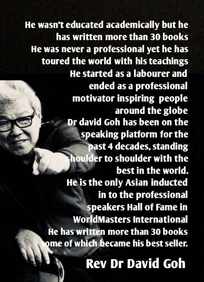 Dr David Goh's Inspiration A05