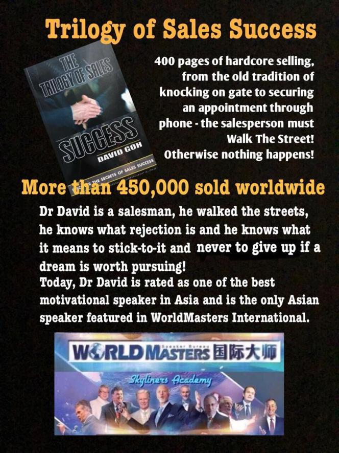 Dr David Goh's Inspiration A22