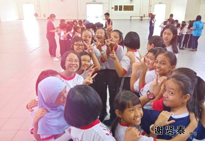 谢贤泰 2020 谢贤泰老师培训 马威华小 小小领袖培训 启发你的思考 挖掘你的潜能 SJKC MAWAI Kota Tinggi Johor Malaysia A16