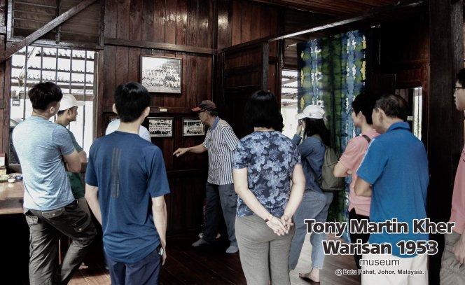 Tony Martin Kher founder of Warisan 1953 Museum at Batu Pahat Johor Malaysia Heritage 1953 Artist Joey Kher A08