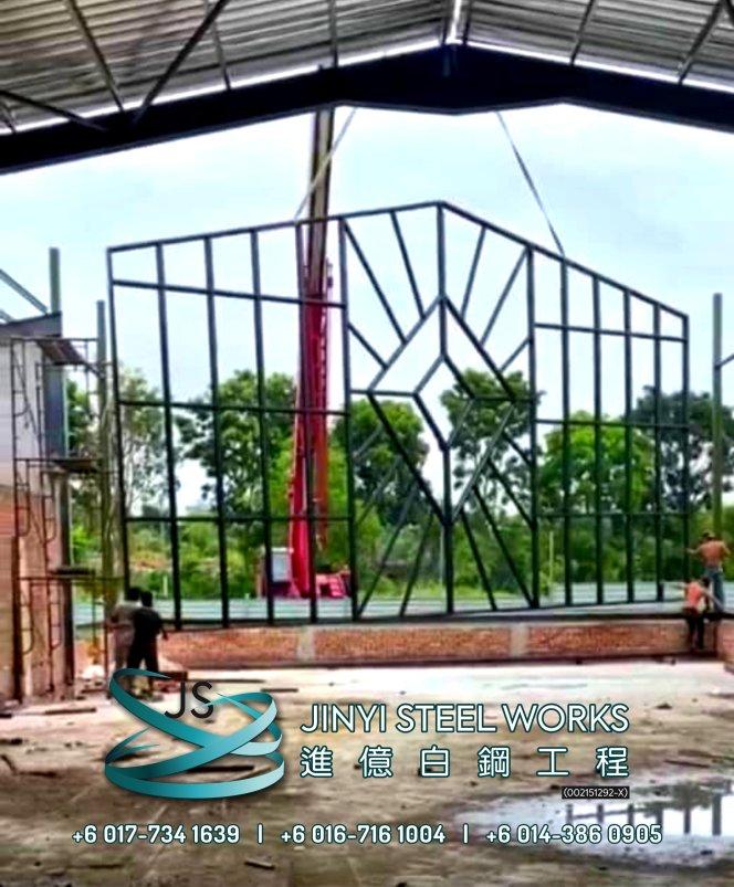 Jinyi Steel Works Pengilang Produk Besi dan Keluli Tahan Karat Menyesuaikan dan Memasangnya Untuk Anda Johor Melaka Negeri Sembilan Kuala Lumpur Selangor Pahang Batu Pahat Stainless Steel B04