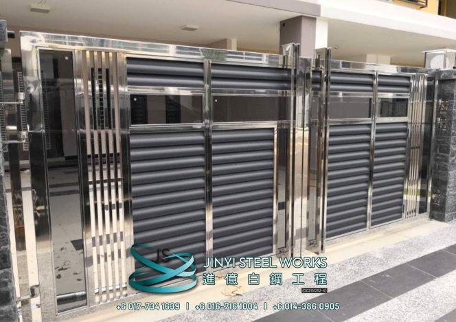 Jinyi Steel Works 铁与不锈钢产品制造商 为您定制钢铁产品与安装 柔佛 马六甲 森美兰 吉隆坡 雪兰莪 彭亨 峇株巴辖 不锈钢制造商 B11