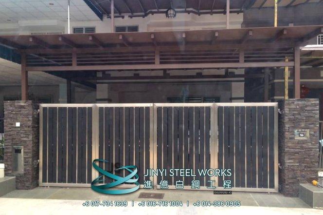 Jinyi Steel Works 铁与不锈钢产品制造商 为您定制钢铁产品与安装 柔佛 马六甲 森美兰 吉隆坡 雪兰莪 彭亨 峇株巴辖 不锈钢制造商 B12
