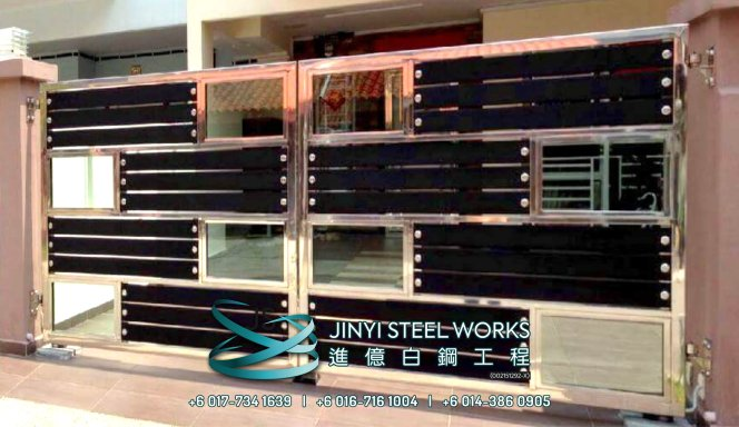 Jinyi Steel Works 铁与不锈钢产品制造商 为您定制钢铁产品与安装 柔佛 马六甲 森美兰 吉隆坡 雪兰莪 彭亨 峇株巴辖 不锈钢制造商 B22