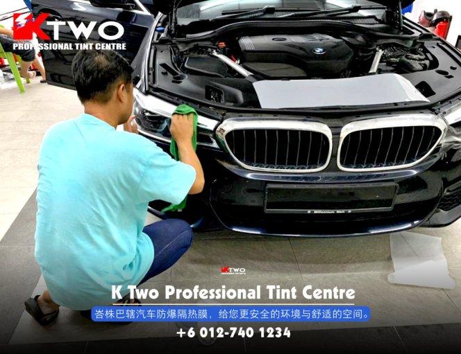 K Two Professional Tint Centre 汽车车镜防爆挡光纸 办公室玻璃窗户防爆隔热膜 B06