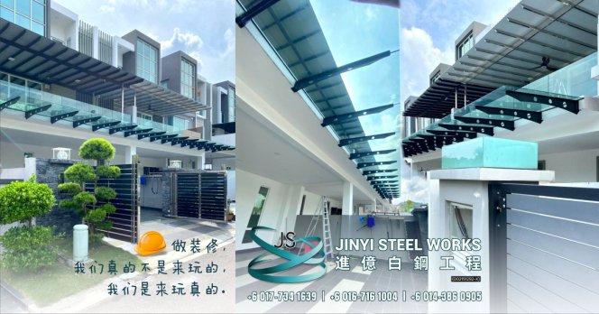 Jinyi Steel Works 铁门 钢门与不锈钢产品制造商 为您定制钢铁产品与安装 柔佛 马六甲 森美兰 吉隆坡 雪兰莪 彭亨 峇株巴辖 装修商 不锈钢制造商 B06-00