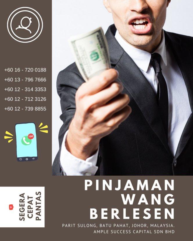 Pinjaman Wang Parit Sulong Pinjaman Wang Batu Pahat Pinjaman Wang Muar Pinjaman Wang Berlesen Parit Sulong Loan Ample Success Capital A26