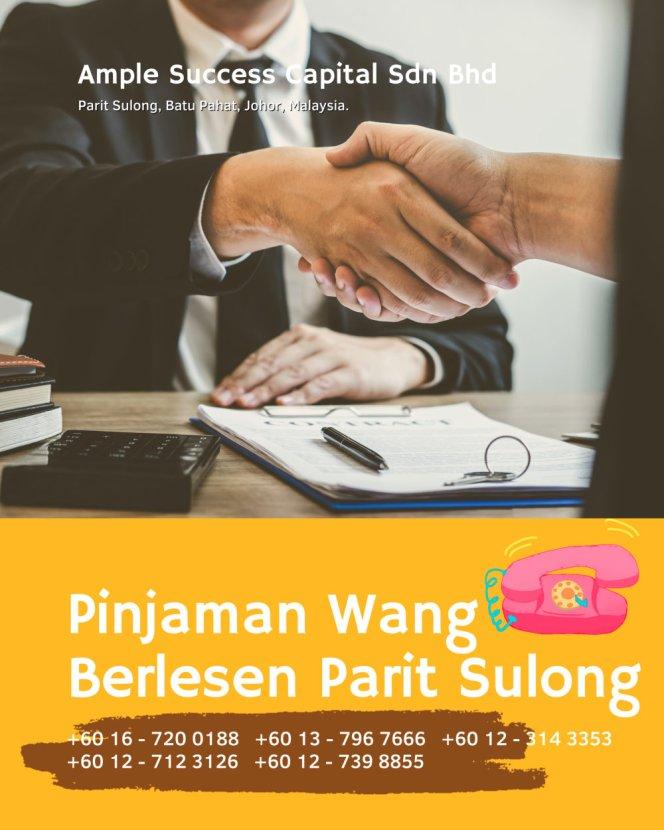 Pinjaman Wang Parit Sulong Pinjaman Wang Batu Pahat Pinjaman Wang Muar Pinjaman Wang Berlesen Parit Sulong Loan Ample Success Capital A27
