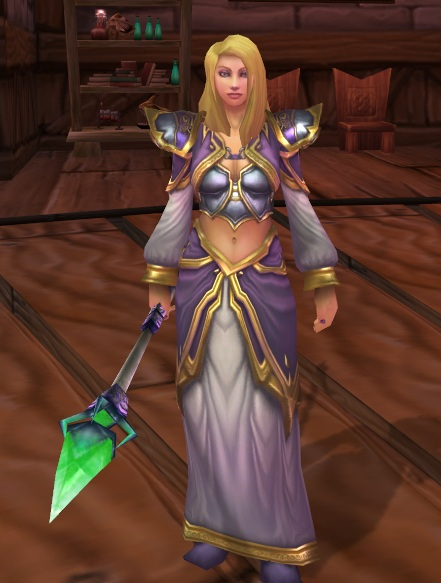 Azeroth's Next Top Plate Model (3/6)