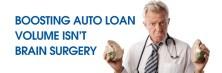 Boosting Auto Loan Volume Isn't Brain Suregery