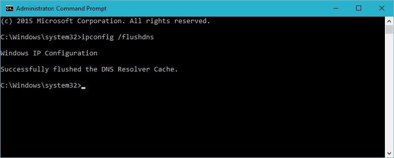 Flush DNS