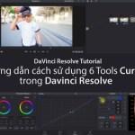 Hướng dẫn sử dụng 6 công cụ của Curves trong Davinci Resolve