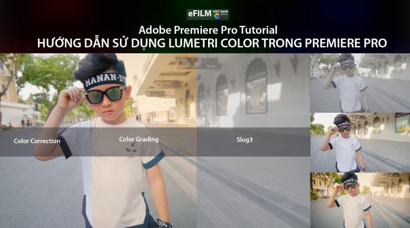 Hướng dẫn sử dụng Lumetri Color Trong Premiere Pro - EFILM