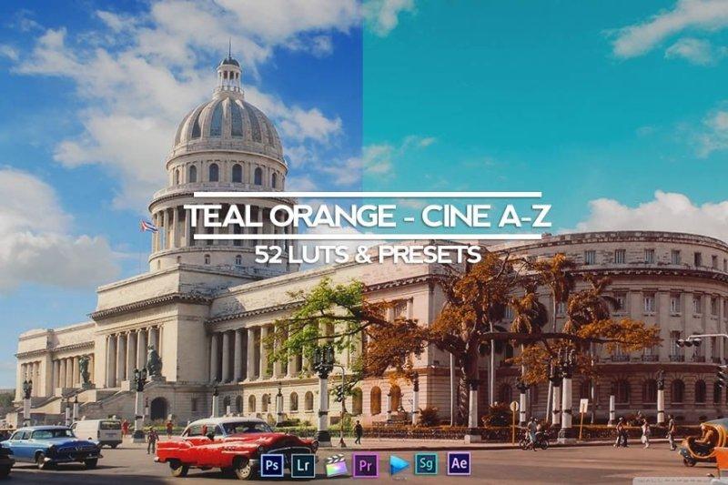 Teal and Orange Professional (RMN) 130 Luts Presets – Download tài