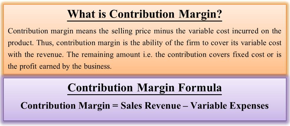What is Contribution Margin? | How to find? Formula,周期變化的; Variable n. 變量, Example | eFM