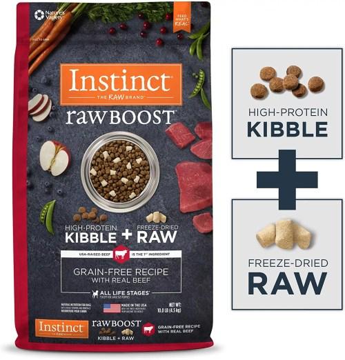 Instinct Raw Boost Grain Free Natural Dry Dog Food