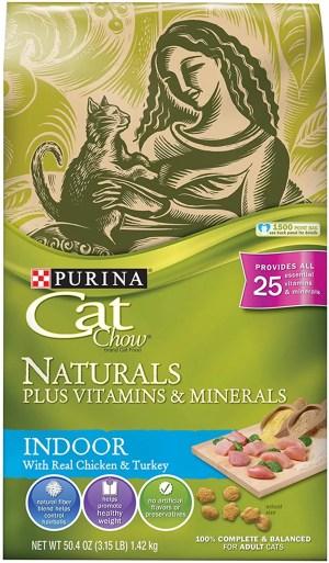 Purina Cat Chow Naturals Indoor Dry Cat Food