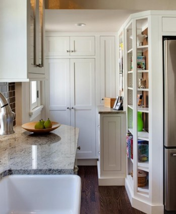 Best Creative Small Kitchen Design And Organization Ideas with Narrow Space