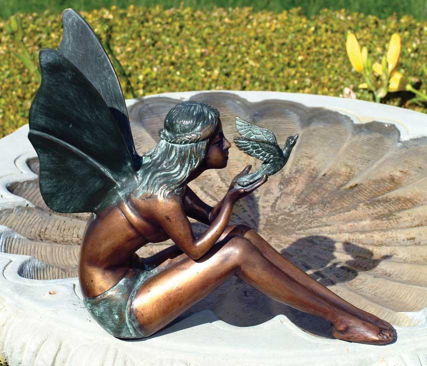 Bronze Garden Fairy Statues Ideas