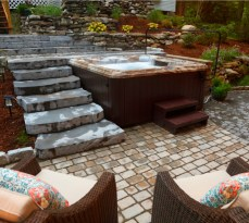 Irresistible Hot Tub Spa Designs for Your Backyard That Will Upgrade Your Home 11