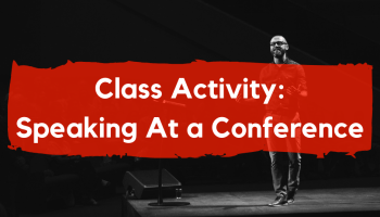 esl speaking activity idea