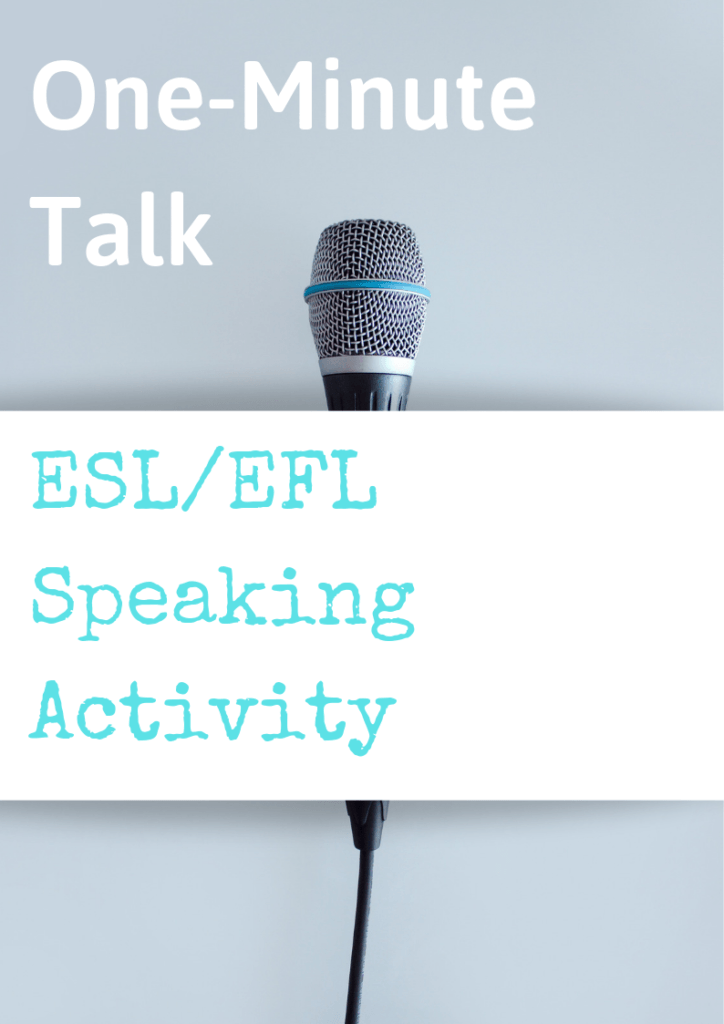 esl resources communication activity