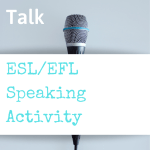 esl speaking activity