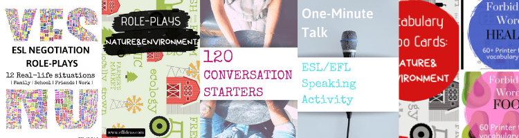ESL conversation topics